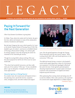 Legacy Newsletter - Fall 2015 - Thumbnail